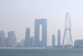 UAE weather: fair and hazy with a drop in temperatures