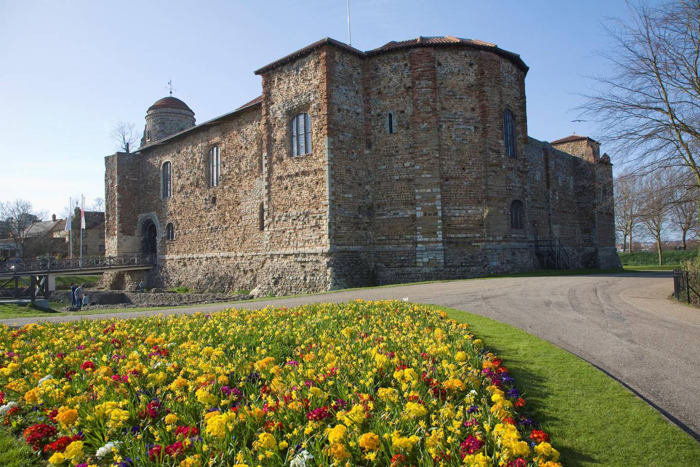 Colchester castle, Colchester, Essex, England. (Photo By: Geography Photos/UIG via Getty Images)