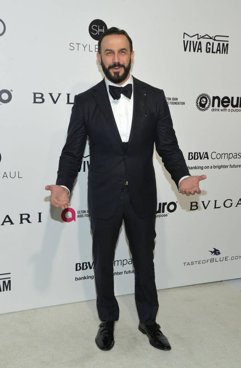 WEST HOLLYWOOD, CA - FEBRUARY 26:  Syrian actor Kosai Khauli attends the 25th Annual Elton John AIDS Foundation's Academy Awards Viewing Party at The City of West Hollywood Park on February 26, 2017 in West Hollywood, California.  (Photo by Michael Tullberg/Getty Images)