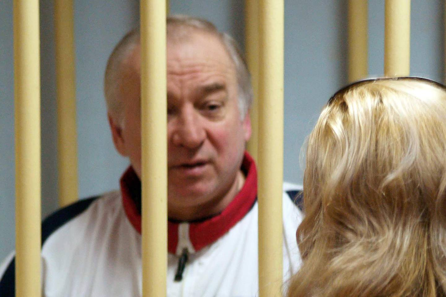 """(FILES) In this file photo taken on August 09, 2006 Former Russian military intelligence colonel Sergei Skripal attends a hearing at the Moscow District Military Court in Moscow on August 9, 2006. The former Russian spy who was found slumped in an English town following a poison attack that Britain blames on Moscow is """"improving rapidly,"""" the hospital treating him said on April 6, 2018. Salisbury District Hospital said Skripal was """"responding well to treatment"""" and """"no longer in a critical condition"""".   / AFP PHOTO / Kommersant Photo / Yuri SENATOROV / Russia OUT"""