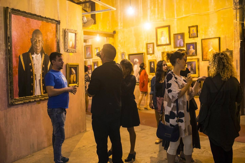 HAVANA, CUBA - NOVEMBER 3:  Art show at the Factory on November 3, 2017 in Havana, Cuba. (Photo by Santi Visalli/Getty Images)