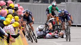 Tour de France: Tim Merlier victorious after another crash-marred stage