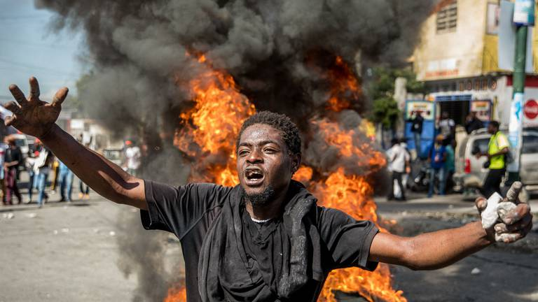 An image that illustrates this article Who are 400 Mawozo? Notorious Haiti gang blamed for kidnapping missionaries