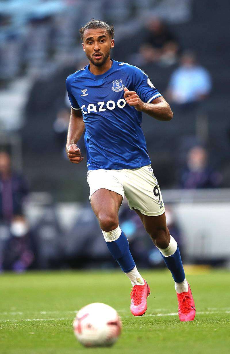 LONDON, ENGLAND - SEPTEMBER 13: Dominic Calvert-Lewin of Everton  during the Premier League match between Tottenham Hotspur and Everton at Tottenham Hotspur Stadium on September 13, 2020 in London, England. (Photo by Alex Pantling/Getty Images)
