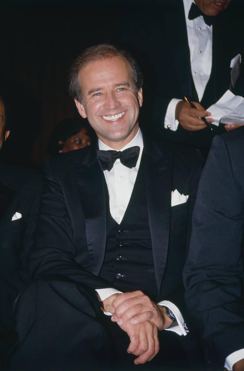 Le sénateur Joe Biden candidat à la présidence des Etats-Unis en 1987. (Photo by Rick Maiman/Sygma via Getty Images)