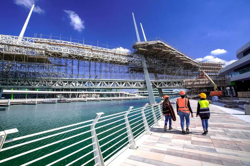 Abu Dhabi, United Arab Emirates, January 13, 2021.   Sneak peek of Al Qana Abu Dhabi and  interview with Fouad Mashal, CEO of Al Barakah International Investment and owner of Al Qana.Victor Besa/The NationalSection:  NAReporte:  Haneen Dajani