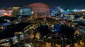 Night falls on Expo 2020 Dubai - the coolest new spot in town