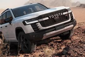 Toyota Land Cruiser GR Sport makes landfall in the UAE