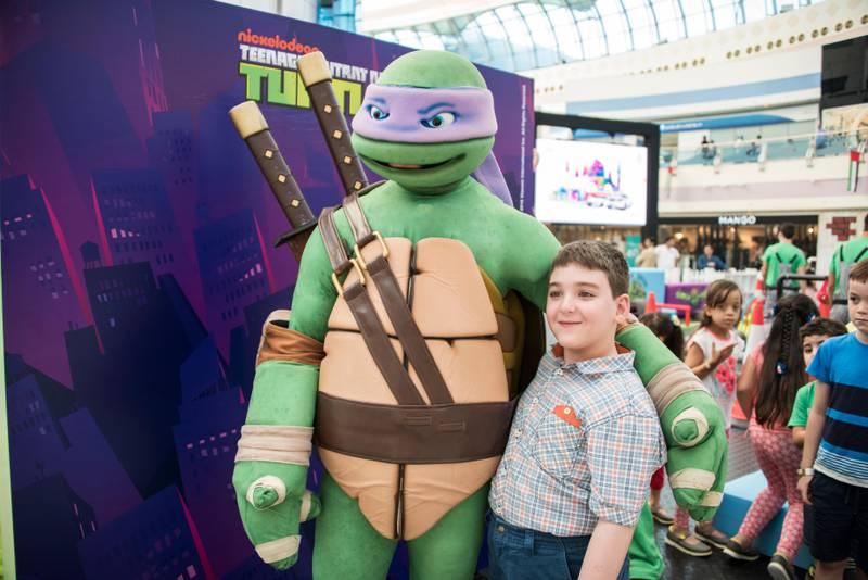 Teenage Mutant Ninja Turtles. Courtesy TCA Abu Dhabi