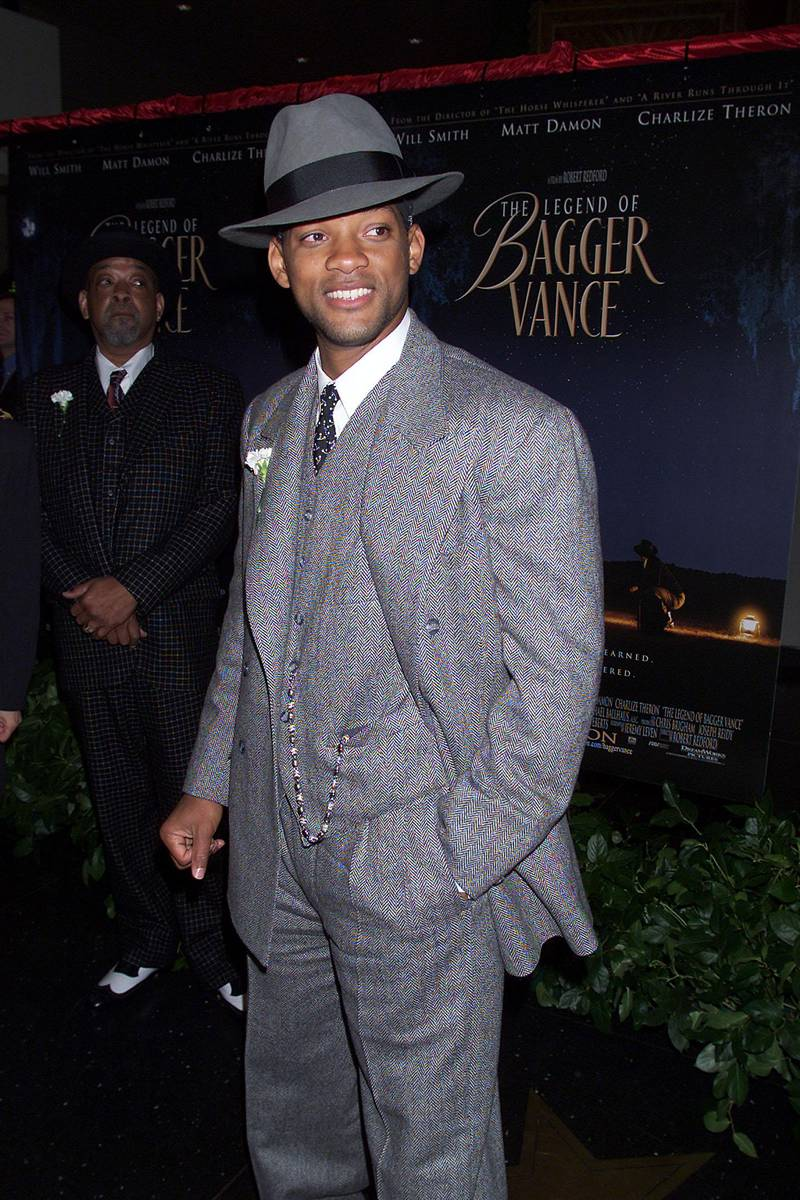 Will Smith at the premiere of The Legend of Bagger Vance in New York.  10/29/00   ( Photo:Scott Gries/Getty Images)