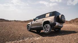 Sand first: we test drive the new Land Rover Defender in the Dubai desert