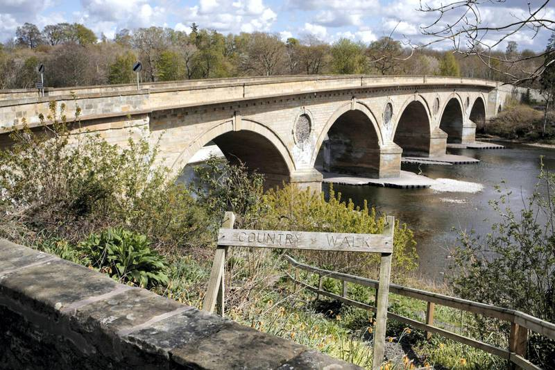 Coldstream Bridge. Photograph: Stuart Boulton