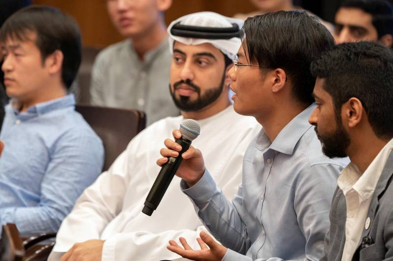 I followed with interest the UAE-China youth symposium, an event which reflects the importance of dialogue among young people from diverse cultures. By investing in education, we believe that youth are our best hope; pioneers who will play an influential role in the future. Mohammed bin Zayed Twitter