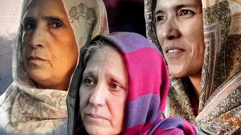 An image that illustrates this article Deja vu for older Afghan women as they watch the Taliban return to power