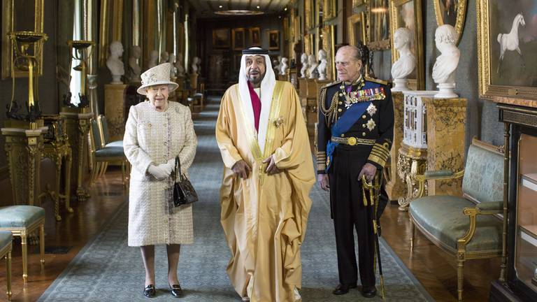 An image that illustrates this article UAE and UK relationship over the years - in pictures