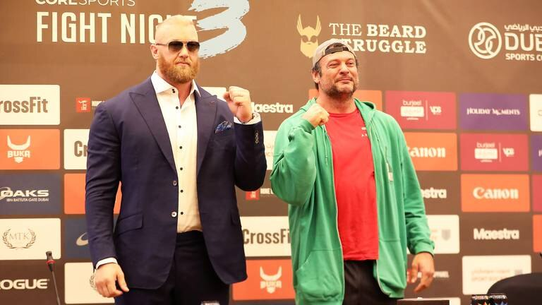 An image that illustrates this article 'Game of Thrones' star Bjornsson returns to the ring in Dubai