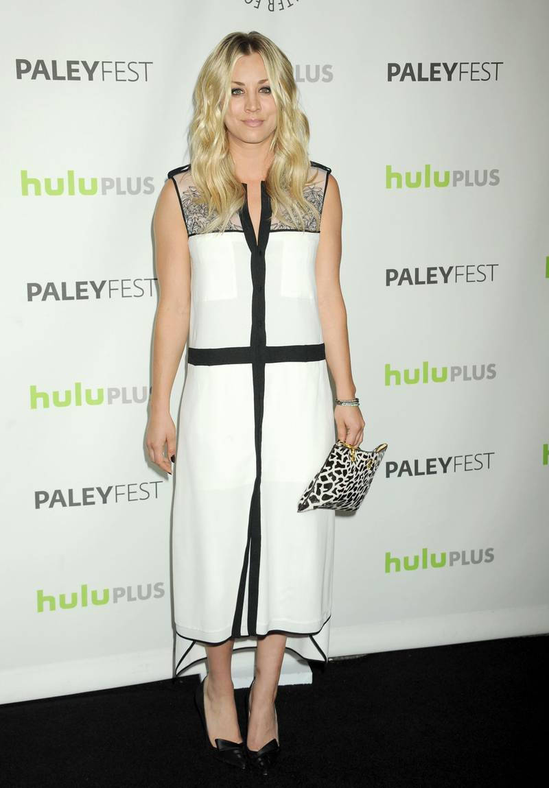 BEVERLY HILLS, CA - MARCH 13:  Actress Kaley Cuoco attends the 30th Annual PaleyFest: The William S. Paley Television Festival honors The Big Bang Theory held at Saban Theatre on March 13, 2013 in Beverly Hills, California.  (Photo by Jennifer Graylock/FilmMagic)