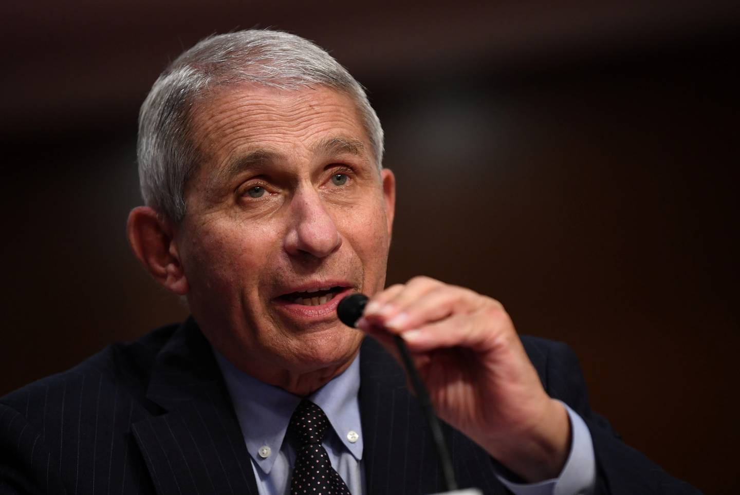 Dr Anthony Fauci, director of the National Institute for Allergy and Infectious Diseases, testifies during a Senate Health, Education, Labor and Pensions (HELP) Committee hearing on Capitol Hill in Washington, U.S., June 30, 2020. Kevin Dietsch/Pool via REUTERS