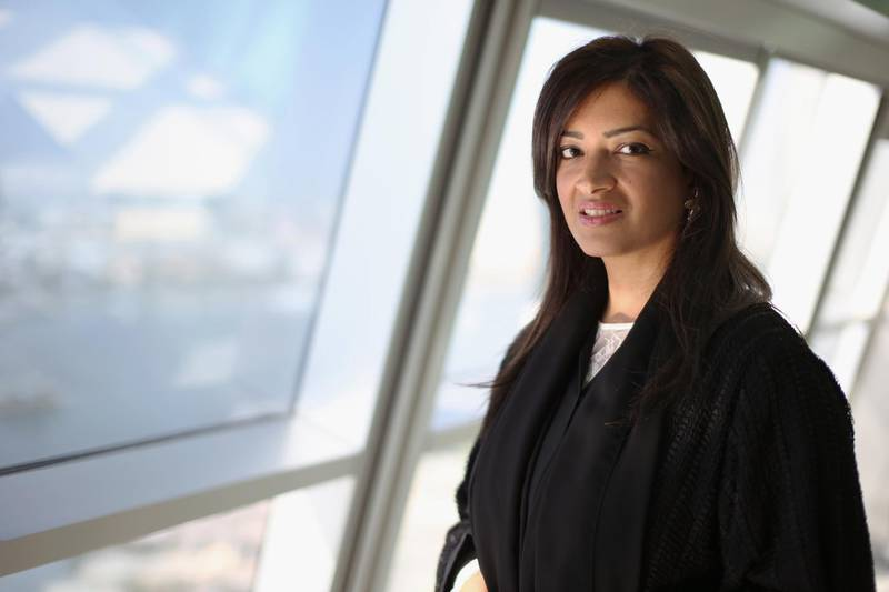 DUBAI, UNITED ARAB EMIRATES, Nov 26, 2014. Muna Al Gurg, director at Easa Saleh Al Gurg Group and chairwoman of the Young Arab Leaders. Photo: Reem Mohammed / The National (Journalist: Ayesha Alkhoori)