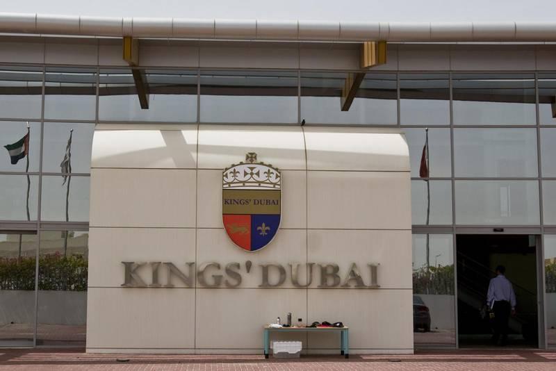 Exterior shots of Kings' Dubai school, in Dubai, UAE, on April 2, 2009.