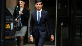 Britain's Rishi Sunak seeks global solution to supply chain crisis