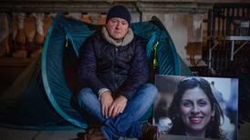 Nazanin Zaghari-Ratcliffe's husband starts new hunger strike in tent protest