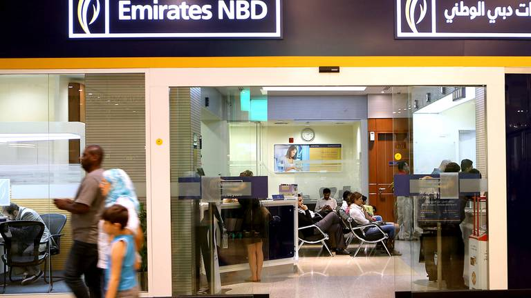 An image that illustrates this article Emirates Development Bank signs deal with Emirates NBD to boost financing to SMEs