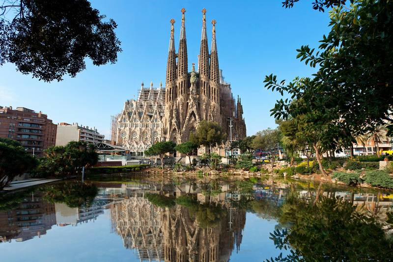 Barcelona, Sagrada Familia (Getty Images / Gallo Images)