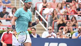 Rafael Nadal relieved to survive Dan Evans scare at Rogers Cup as Stefanos Tsitsipas crashes out