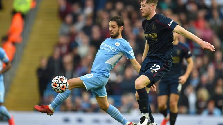 An image that illustrates this article Manchester City v Burnley ratings: De Bruyne 8, Silva 8; Cornet 7, Cork 5