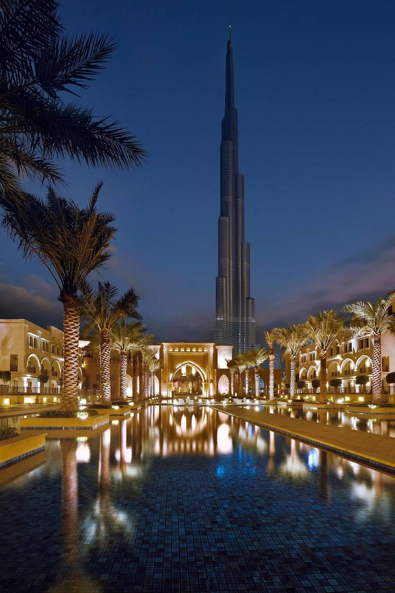 Palace Downtown in Dubai. Courtesy Address Hotels + Resorts