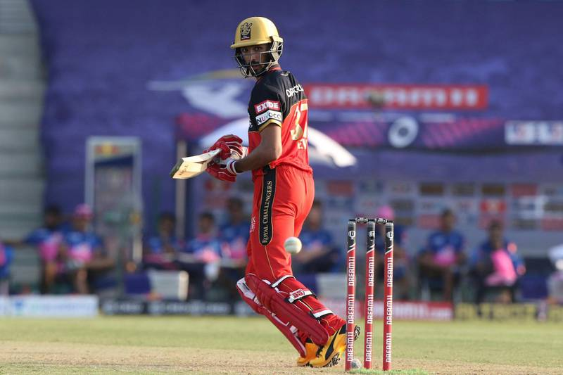 Shreyas Gopal of Rajasthan Royals plays a shot during match 15 of season 13 of Indian Premier League (IPL) between the Royal Challengers Bangalore and the Rajasthan Royals at the Sheikh Zayed Stadium, Abu Dhabi  in the United Arab Emirates on the 3rd October 2020.  Photo by: Pankaj Nangia  / Sportzpics for BCCI