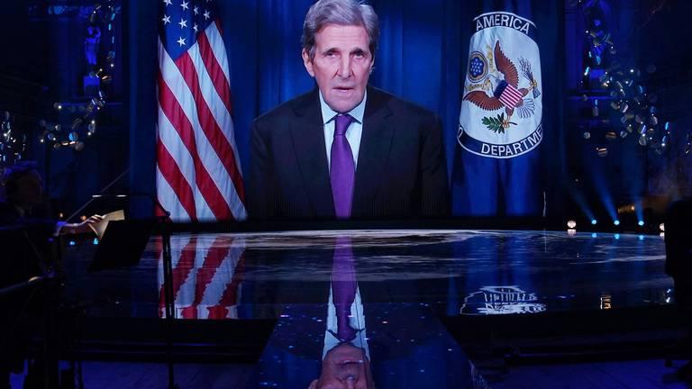 An image that illustrates this article US climate envoy John Kerry to visit Saudi Arabia