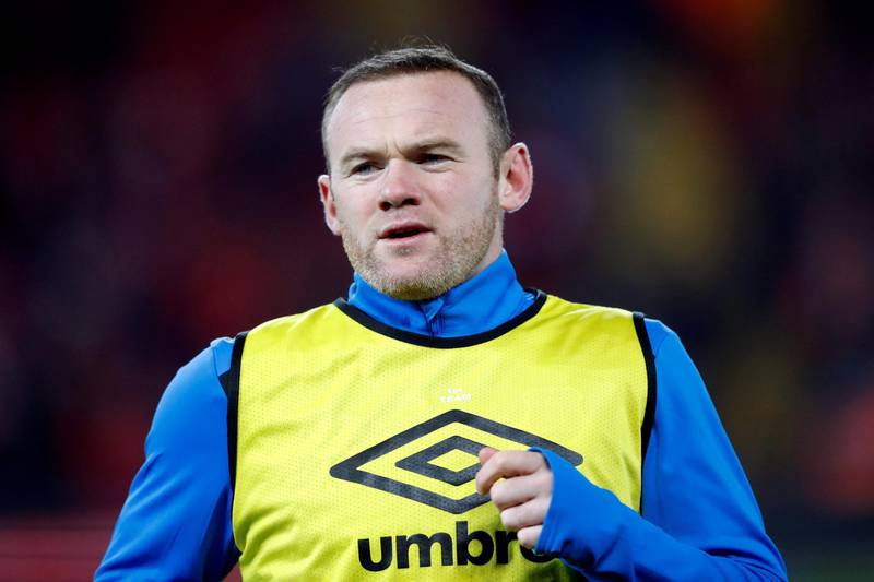 FILE PHOTO: Soccer Football - FA Cup Third Round - Liverpool vs Everton - Anfield, Liverpool, Britain - January 5, 2018   Everton's Wayne Rooney during the warm up before the match   Action Images via Reuters/Carl Recine/File Photo