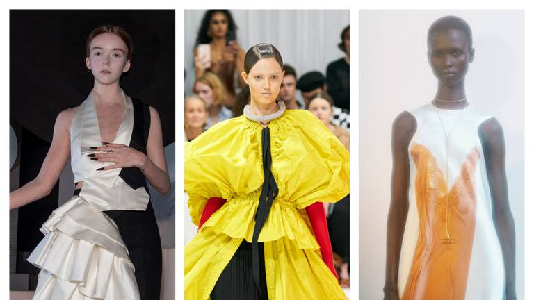 An image that illustrates this article Victoria Beckham, Harris Reed and JW Anderson round out London Fashion Week in style
