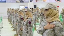 Saudi Arabia's first female soldiers graduate from military academy