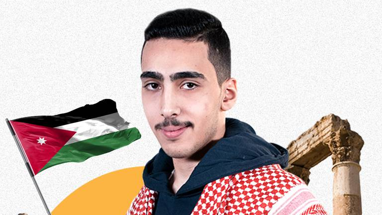 An image that illustrates this article Jordanian teenager crowned Arab Reading Challenge champion