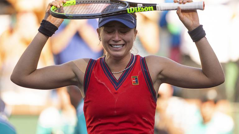 An image that illustrates this article Badosa wins Indian Wells title: 'my dream is to win a tournament like this'