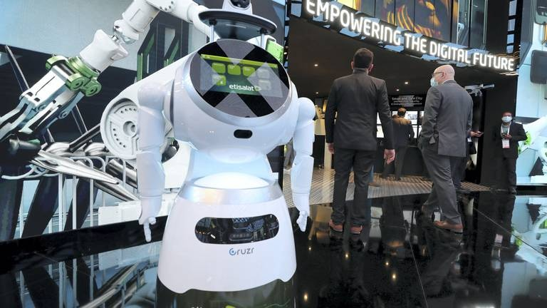 An image that illustrates this article See the future now: What is Dubai's super-cool Gitex?