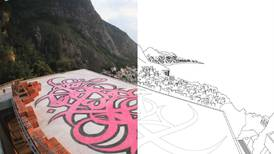 Artist eL Seed shares colouring book versions of his murals for people to print at home