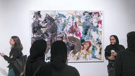 A group of students have put Zaki Nusseibeh's private art collection on show in Abu Dhabi