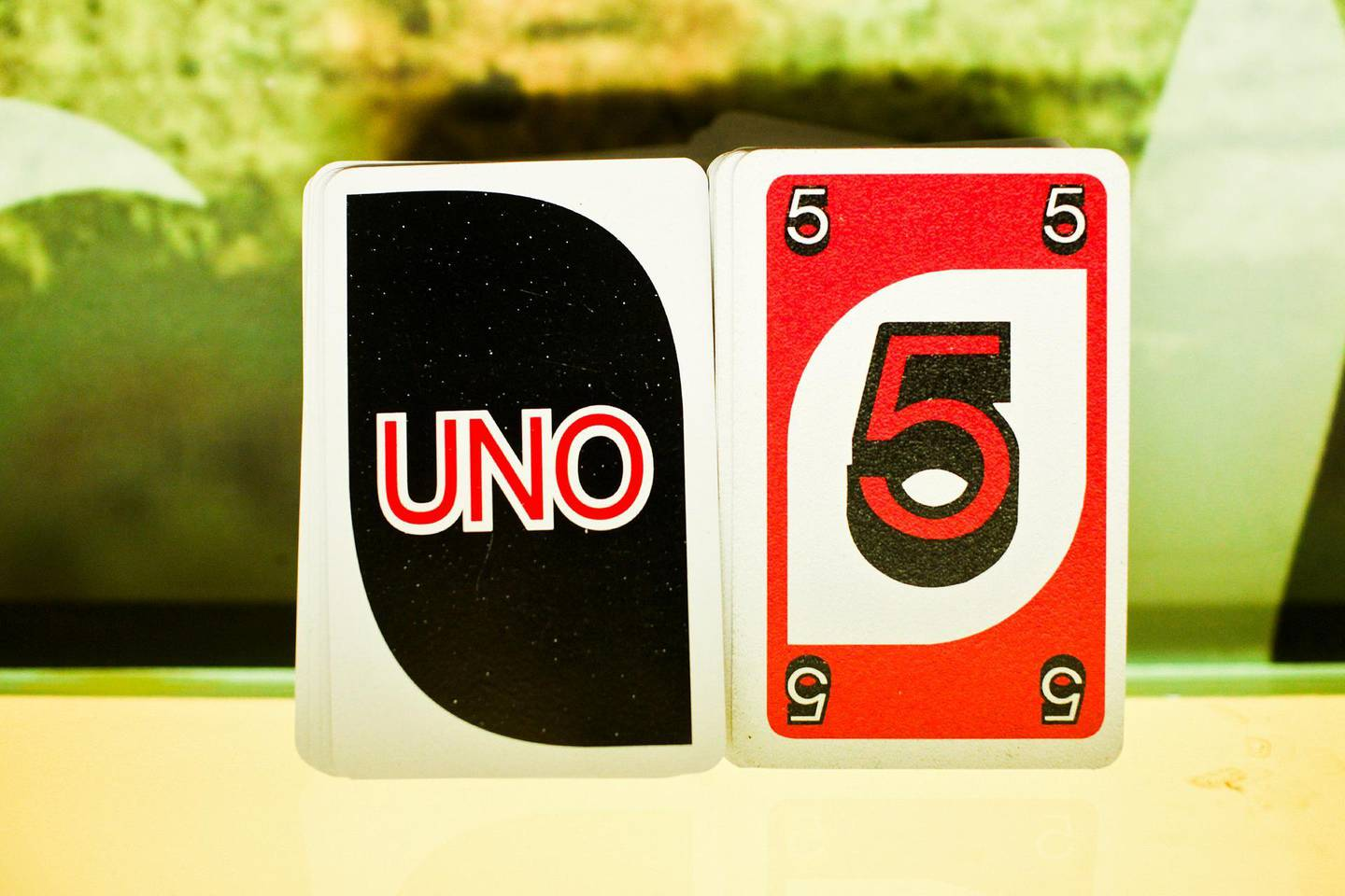 May 24, 2013, Dubai, UAE: The Tea House Junction, a cafe in Oud Metha, is home to the city's better teas and also to its gamers. Not video gamers but board gamers.   Seen here is a deck of Uno cards.    Lee Hoagland/The National