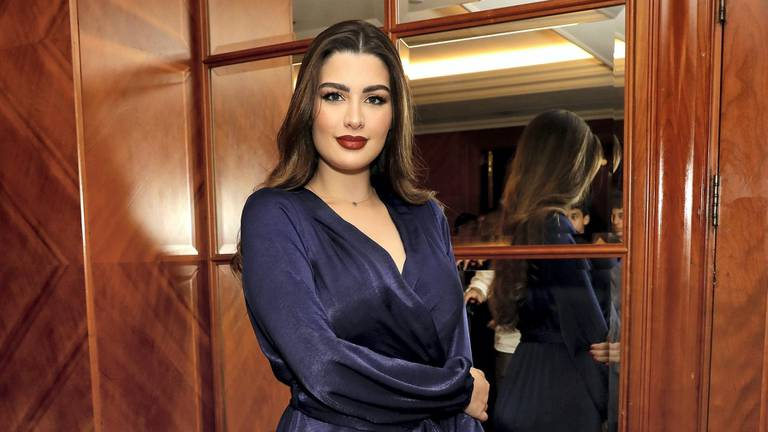 An image that illustrates this article Kuwaiti model fined after cutting up ex-husband's £200 polo shirt