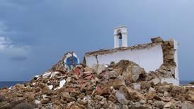 Crete earthqake: 6.3 magnitude tremor rocks Greek island and damages buildings