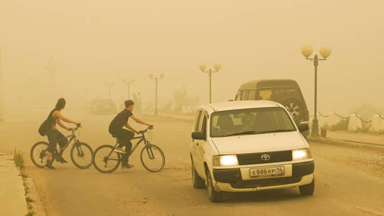 An image that illustrates this article More cycling, less meat, cleaner air: WHO's wish list for Cop26