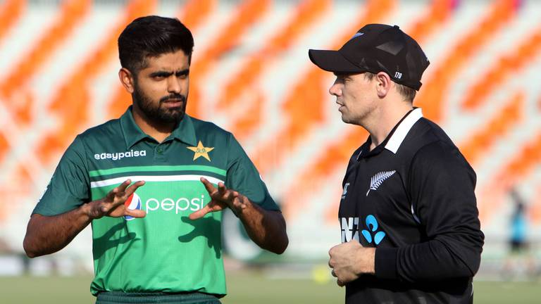 An image that illustrates this article New Zealand abandon Pakistan tour minutes before first ODI