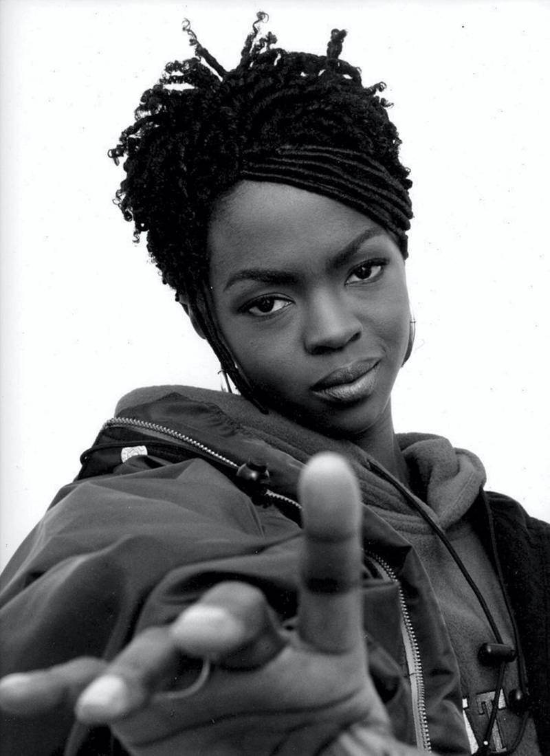 Jayson Keeling - Lauryn Hill - Brooklyn,1996. A Visual History of Hip-Hop exhibition in Manarat Saadiyat. photo: Nermine Kashef