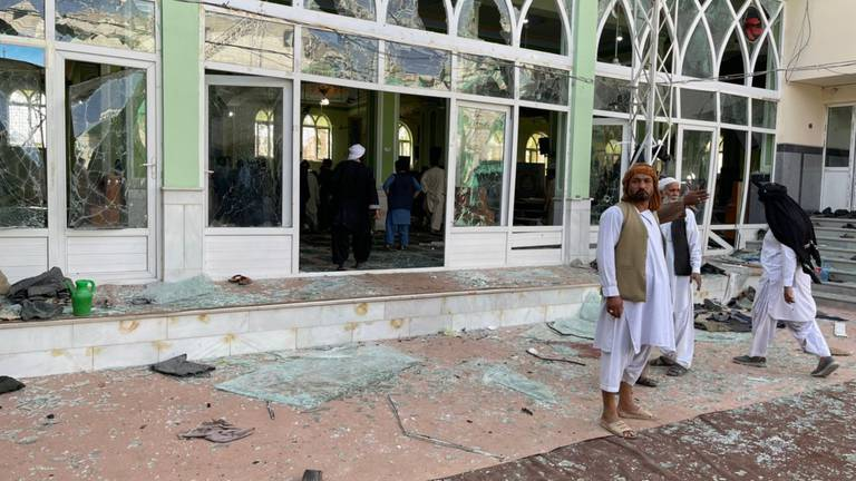 An image that illustrates this article Afghanistan: dozens killed in blast at Kandahar mosque