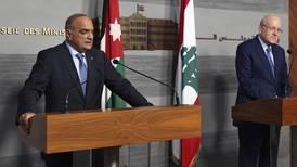 Lebanese and Jordanian PMs discuss energy needs