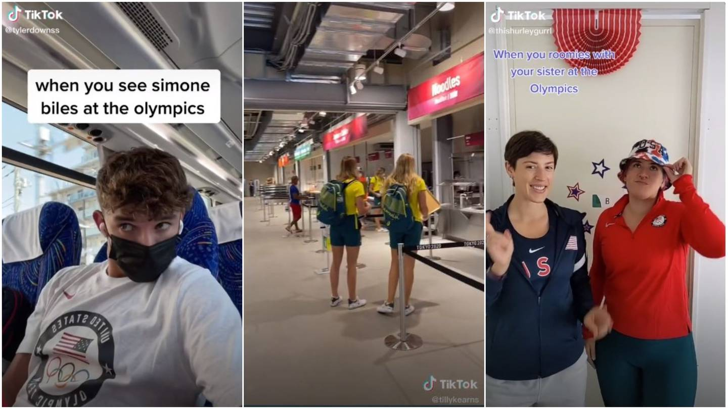 Olympians on Tiktok: who to follow for a behind-the-scenes look at the  Tokyo Games